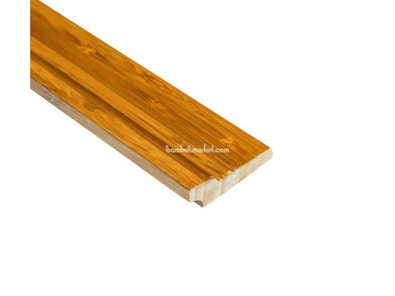 Бамбуковый плинтус, темный  – фото 3
