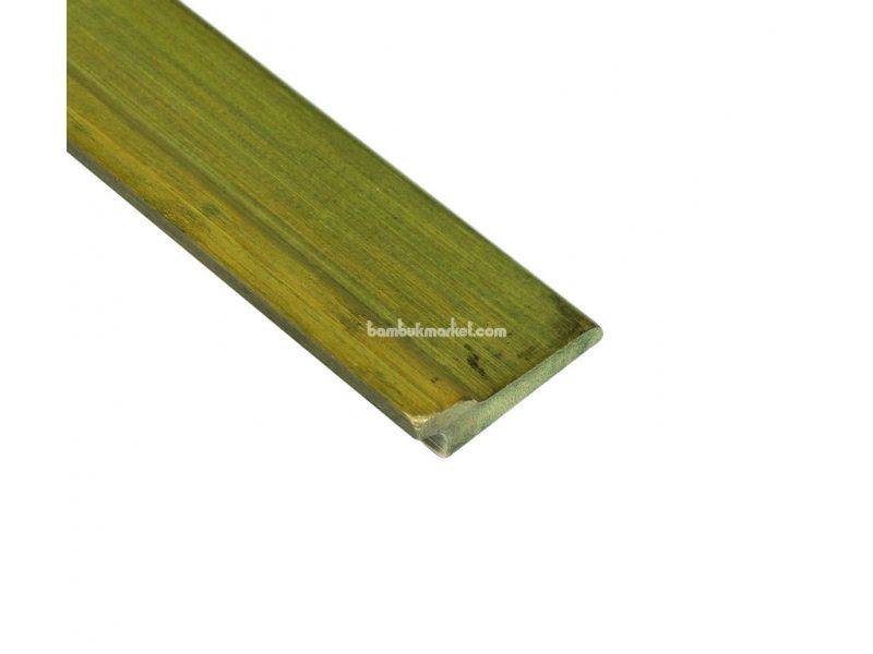Бамбуковый плинтус, зеленый  – фото 3