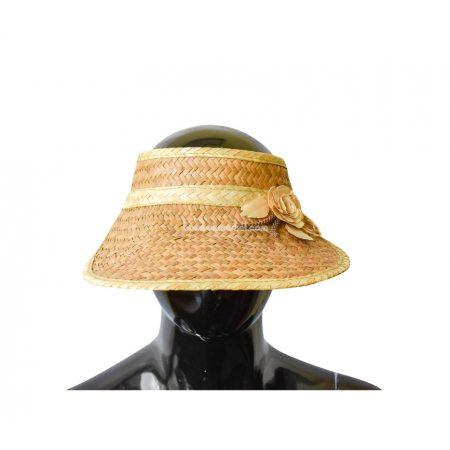 """Соломенная шляпа """"Козырек"""""""