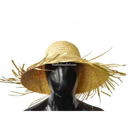 """Соломенная шляпа """"Лохматый пастушок"""" - фото 1"""
