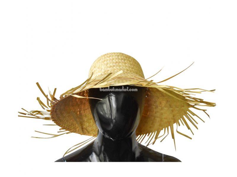 """Соломенная шляпа """"Лохматый пастушок"""" – фото 2"""