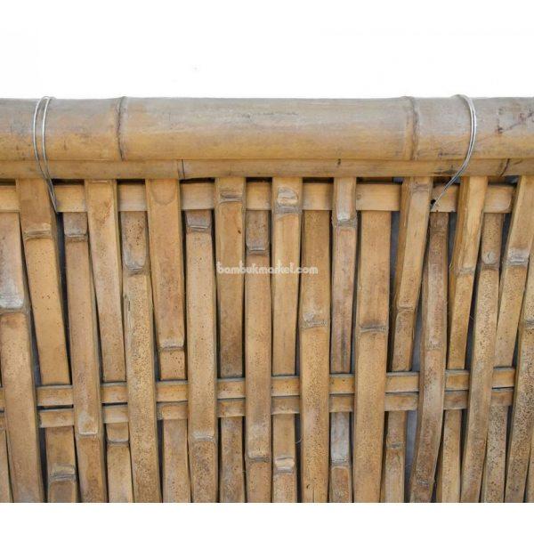 Бамбуковый забор с окантовкой, 2200х1400мм. Сорт 2 – фото 3