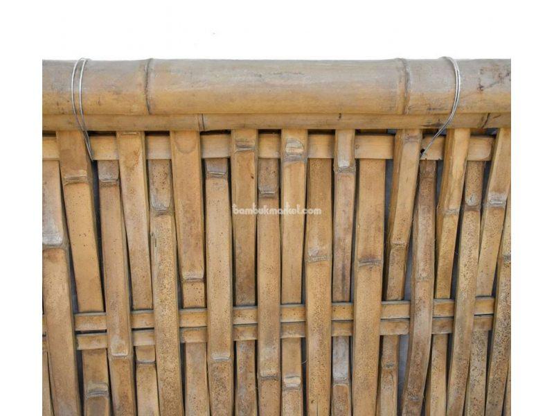 Бамбуковый забор, с окантовкой, 2200х1400мм. Сорт 2 – фото 3