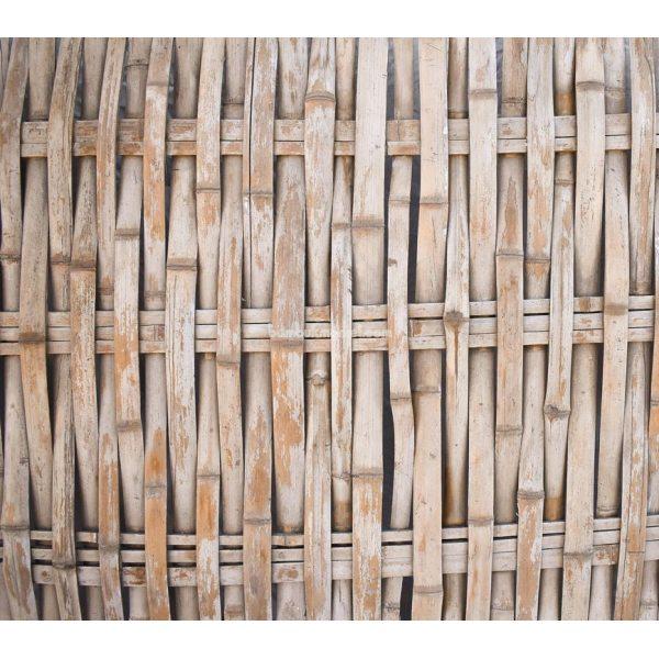 Бамбуковый забор без окантовки, 2000х1200мм.