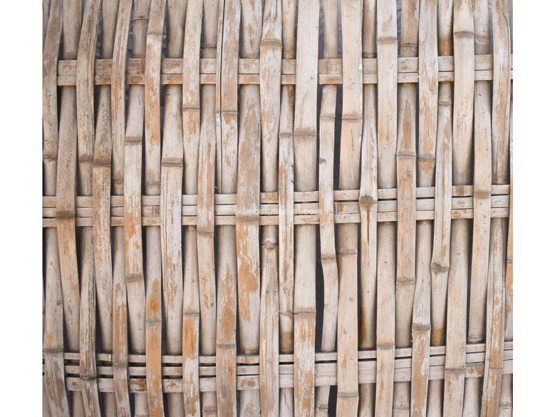 Бамбуковый забор без окантовки, 2000х1200мм. Сорт 2 – фото 3
